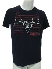 Maroon 5 Adult Medium Tour 2011 Concert Tee Glidan Softstyle Black Short Sleeve