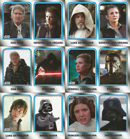 Star Wars Journey to Last Jedi ~ FAMILY LEGACY 6-Card Insert Set (Walmart)