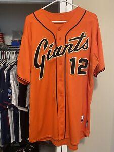Authentic #12 Joe Panik San Francisco Giants jersey