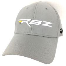Taylormade RBZ Rocketballz Hat Golf Tour Cap Logo Baseball Trucker Strap Gray