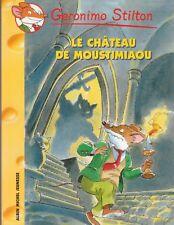 GERONIMO STILTON 22 Le château di Moustimiaou libro jeunesse