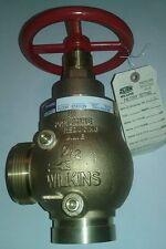 "ZURN/WILKINS 2-1/2"" ZW4000G-S, PRESSURE REDUCING VALVE, NEW, FREE SHIPPING"