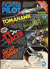 Espectro de integración Digital/juegos de C64, 1985 #17897 anuncio de revista