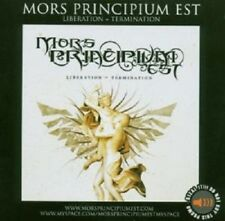 "MORS PRINCIPIUM ""LIBERATION=TERMINATION"" CD NEW+"