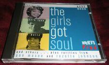 The Girls Got Soul CD Kent Barbara Lynn Mary Wells Doris Troy & Others 25 songs