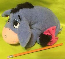 "9"" Fisher Price Disney Sitting Eeyore Rattle Plush Winnie the Pooh"