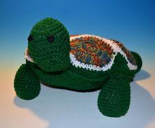 Large Crochet Turtle Pillow, Cute Stuffed Animal - Pillow Turtle Stuffed Animal
