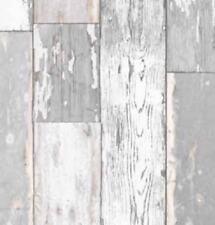 Klebefolie Holzdekor Möbelfolie Holz Scrapwood grau hell 90cmx200cm Dekorfolie