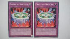 Lot 2 Cartes Yu Gi Oh Cercle Du Magicien TU08-FR020