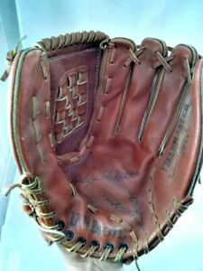 "Wilson 2971 Leather Baseball Glove 12"" RHT Kirby Pucket Premium Cowhide Softball"