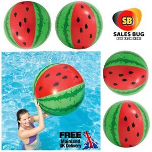 "42"" Intex Inflatable Mega Giant Watermelon Beach Ball Summer Pool Outdoor Fun"