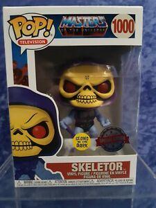 Funko Pop Vinyl Exclusive Masters Of The Universe Skeletor GITD #1000