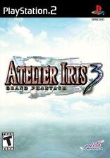 Atelier Iris 3: Grand Phantasm [PlayStation 2 PS2, NTSC, Adventure JRPG] NEW
