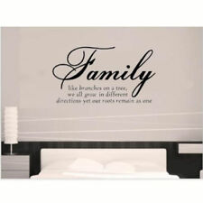 'Family Like Branch'Wall Sticker Decal Mural Decor Vinyl Bedroom Home Decoration