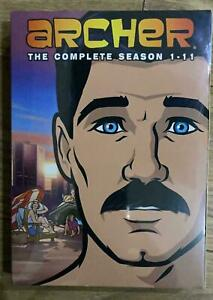 Archer the complete season 1-11 dvd box