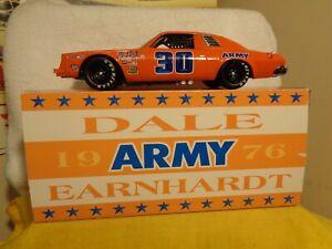 DALE EARNHARDT SR #30 1/24  1976 CHEVY MALIBU ARMY CWC DIECSAST NASCAR
