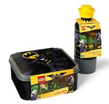 Lego Batman heroes Lunch Box Set Drinking Water Bottle Black Room Copenhagen kid