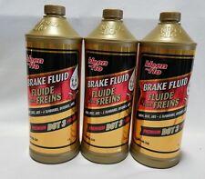 Box of 3 Kleen-Flo Brake Fluid Premium Dot3 for Drum, disc, abs - 3 Litres