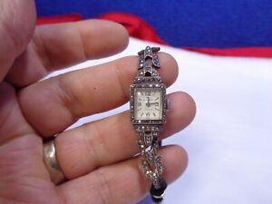 Vintage Bucherer Ladies Watch. **WORKING**. BO