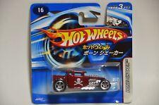 Hot Wheels 2006 Bone Shaker #16 JAPANESE Short Card JAPAN VHTF Rare