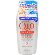 Kose Japan CoenRich Q10 White Body Milky Gel UV (130ml/4.3 fl.oz) SPF25 PA++
