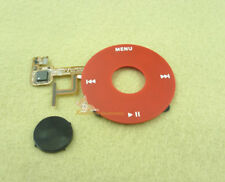 Red Clickwheel Black Button for iPod 5th Gen Video 30GB 80GB U2 Special Edition