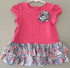 Girls 18 Months Pippa & Julie Floral Dress Boutique Perfect Cond MAKE OFFER!
