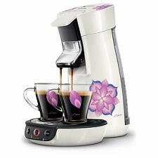 Philips Senseo HD6569 Viva Café Style Kaffeepadmaschine Weiß mit Blumen SD739 B