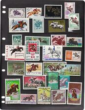SPORTS EQUESTRIAN 4 SCANS MIXED