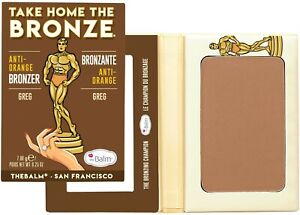 Take Home the Bronze Anti-Orange Bronzer by The Balm Cosmetics, Greg (Dark)