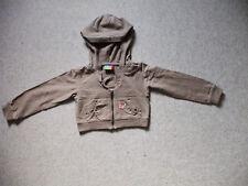 Sweat - Shirt - Jacke mit Kapuze Marke: Topolino Größe 116