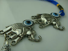 Religious Evil Eye Elephant Hanging Charms for Safety Travel and Protection