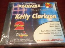 CHARTBUSTER 6+6 KARAOKE DISC 40399 KELLY CLARKSON #2 CD+G POP MULTIPLEX SEALED