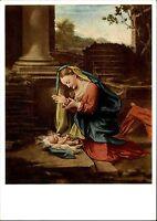 Künstlerkarte Hermes Bildkarte Kunst Künstler Antonio Allegri Correggio Anbetung