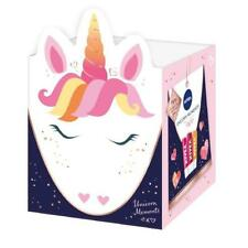 Nivea Unicorn Kisses Lip Balm Trio Strawberry, Mango & Cherry Gift Set BNIB