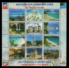 DOMINICAN REPUBLIC UPAEP TOURIST ATTRACTIONS Sc 1623 MNH 2017