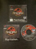 The Lost World: Jurassic Park - Sony PlayStation - UK PAL video game - complete