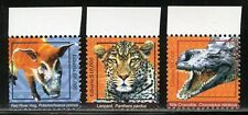 LIBERIA 2017 WILD ANIMALS HIGH VALUE DEFINITIVE SET OF THREE MINT NEVER HINGED