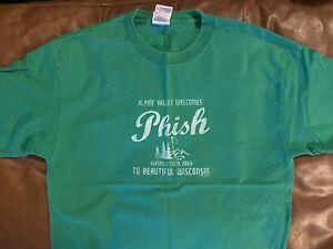 Phish 2004 Dry Goods Alpine Valley Shirt: Size Large