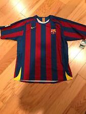 Nike FCB Barcelona Messi 2005 2006 Home Jersey Size XL BNWT Ultra Rare 195970