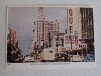 Granville Street Vancouver Canada Vintage Postcard (Lot 1)