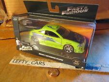 JADA Green Brian's MITSUBISHI ECLIPSE Car FAST&FURIOUS Scale 1/32 (STOCK#4)