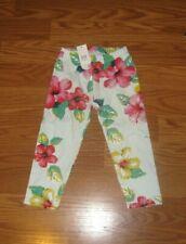 NWT GAP Kids Girls XS 4/5 Floral Legging Pants NEW