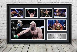 Tyson Fury Signed Photo Print Autographed Poster Boxing Memorabilia