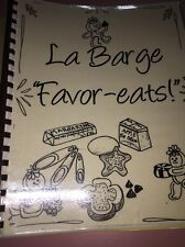 La Barge Favor Eats Cook Boox Receipe Spiral Binding