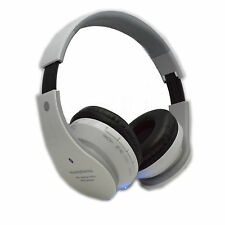 Wireless FM Card Mp3 Stereo Bluetooth Headphone For Cell Phone Laptop PC Tablet