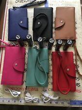 6X Lodis Genuine Leather Smart Phone Wristlet Wallet,6Charging Stick & 3USB Cord