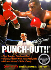 Mike Tyson's Punch-Out NINTENDO NES Video Game