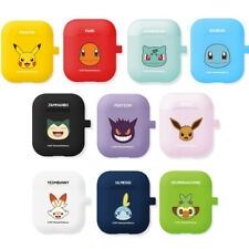 Pokemon Airpods Color Jelly Case 1st 2nd Generation made in Korea