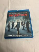Inception (Blu-ray/DVD, 2010, 2-Disc Set) with Slipcover